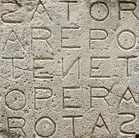 The Sator Magic Square